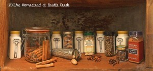 How is your holiday spice cabinet?